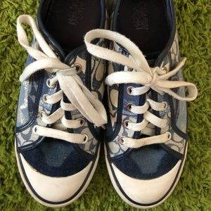 Coach Denim Patchwork Shoes